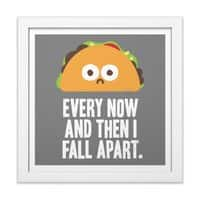 Taco Eclipse of the Heart - white-square-framed-print - small view