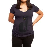 Barad-Purr - womens-deep-v-neck - small view