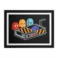 Ghost Busted - black-horizontal-framed-print - small view