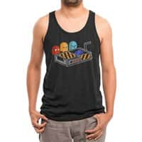 Ghost Busted - mens-triblend-tank - small view
