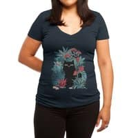 Popoki - womens-deep-v-neck - small view