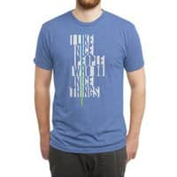 Be Nice - mens-triblend-tee - small view