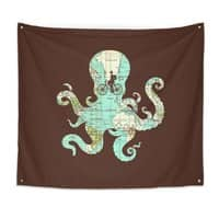 All Around the World - indoor-wall-tapestry - small view