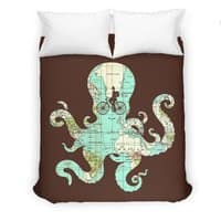 All Around the World - duvet-cover - small view
