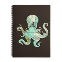 All Around the World - spiral-notebook - small view