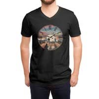 Right here waiting - vneck - small view