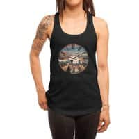 Right here waiting - womens-racerback-tank - small view