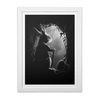 Never Too Late - white-vertical-framed-print - small view