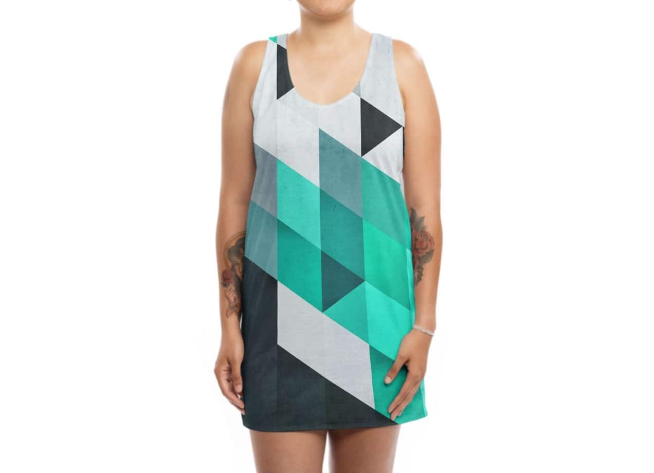 acdd1467bac9 Mynt by James Soares | Womens Sublimated Tank Dress Threadless