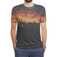 Sky Explosion - mens-sublimated-triblend-tee - small view