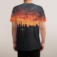 Sky Explosion - mens-sublimated-tee - small view