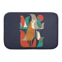 Flock of Birds - bath-mat - small view