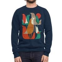Flock of Birds - crew-sweatshirt - small view