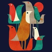 Flock of Birds - small view