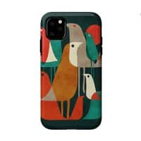 Flock of Birds - double-duty-phone-case - small view