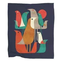 Flock of Birds - blanket - small view