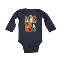 Flock of Birds - baby-long-sleeve-bodysuit - small view