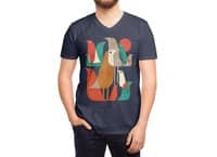 Flock of Birds - vneck - small view