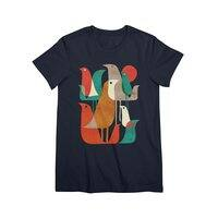 Flock of Birds - womens-premium-tee - small view