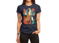 Flock of Birds - womens-regular-tee - small view