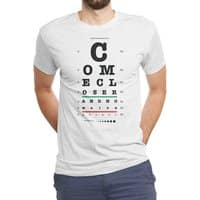 Come Closer - mens-triblend-tee - small view