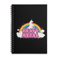 HEAVY METAL! - spiral-notebook - small view