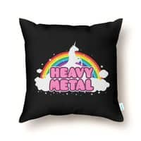 HEAVY METAL! - throw-pillow - small view
