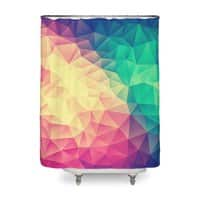 Color Bomb! - shower-curtain - small view