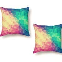 Color Bomb! - throw-pillow - small view
