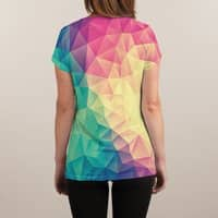 Color Bomb! - womens-sublimated-v-neck - small view