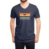 Love Wins - vneck - small view