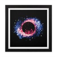 Black Hole - black-square-framed-print - small view