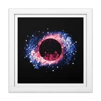 Black Hole - white-square-framed-print - small view