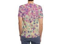 Pink Triangle Print - mens-sublimated-triblend-tee - small view