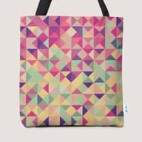 Pink Triangle Print - small view