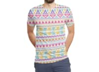 Pattern Overload - mens-sublimated-triblend-tee - small view