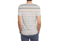 Ghost Pixels - mens-sublimated-triblend-tee - small view