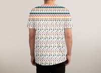 Ghost Pixels - mens-sublimated-tee - small view