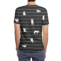 Sloth Stripe - mens-sublimated-triblend-tee - small view