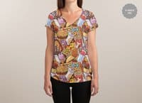 Edible - womens-sublimated-v-neck - small view