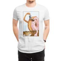 A Donut Eating Cop - mens-regular-tee - small view