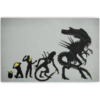 Alien Evolution - horizontal-canvas - small view