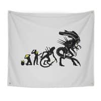 Alien Evolution - indoor-wall-tapestry - small view