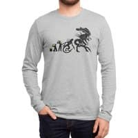 Alien Evolution - mens-long-sleeve-tee - small view