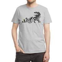 Alien Evolution - mens-regular-tee - small view