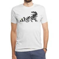 Alien Evolution - mens-triblend-tee - small view