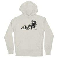 Alien Evolution - unisex-lightweight-pullover-hoody - small view