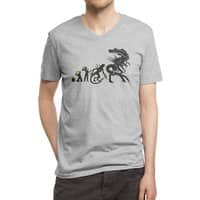 Alien Evolution - vneck - small view