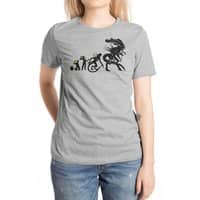 Alien Evolution - womens-extra-soft-tee - small view