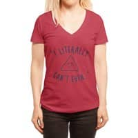 Can't Even - womens-deep-v-neck - small view